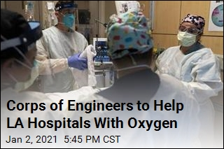 Hospitals Get Oxygen Help From Corps of Engineers