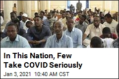 In This Nation, Few Take COVID Seriously