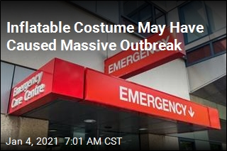 Inflatable Costume May Have Caused Massive Outbreak