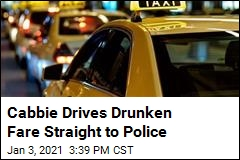 Cabbie Drives Drunken Fare Straight to Police