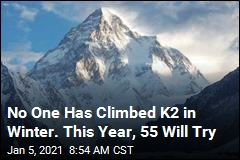 No One Has Climbed K2 in Winter. This Year, 55 Will Try