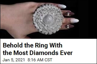 Behold the Ring With the Most Diamonds Ever