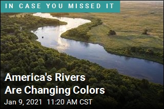 America's Rivers Are Changing Colors
