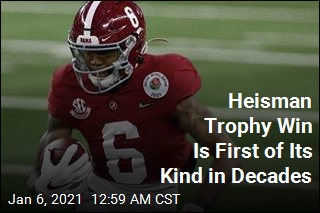 Heisman Trophy Win Is a First in 29 Years