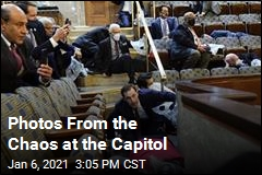 Scenes From the Chaos at the Capitol
