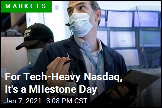 For Tech-Heavy Nasdaq, It's a Milestone Day