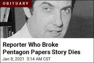 Reporter Who Broke Pentagon Papers Story Dies