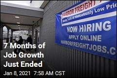 7 Months of Job Growth Just Ended