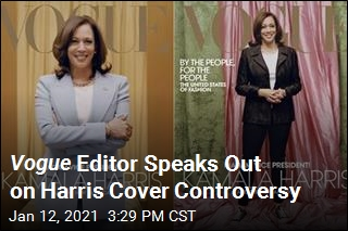 Anna Wintour Defends Kamala Harris Cover