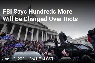 FBI Says Hundreds More Will Be Charged Over Riots