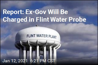 Report: Michigan to Charge Ex-Gov. in Flint Water Probe