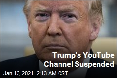 YouTube Suspends Trump's Channel
