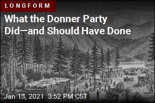 Surviving the Donner Party Meant Taking These Steps