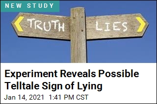Experiment Reveals Possible Telltale Sign of Lying