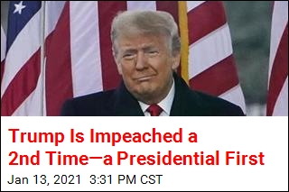 President Trump Is Impeached a 2nd Time