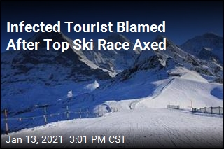 Infected Tourist Blamed After Top Ski Race Axed