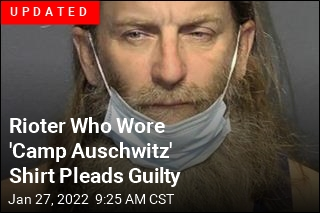 Man in 'Camp Auschwitz' Shirt Has Been Arrested