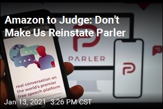 Amazon Seeks to Keep Parler Offline