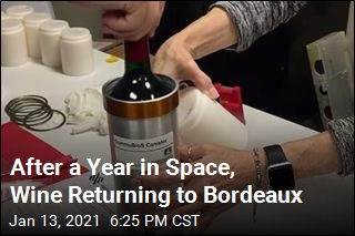 After a Year in Space, Wine Returning to Bordeaux