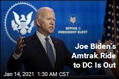 Joe Biden's Amtrak Ride to DC Is Out