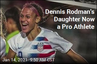 Dennis Rodman's Daughter Now a Pro Athlete