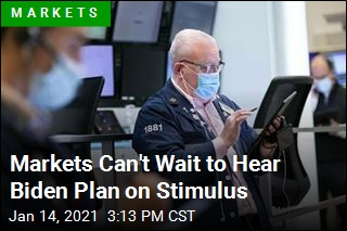 Markets Can't Wait to Hear Biden Plan on Stimulus