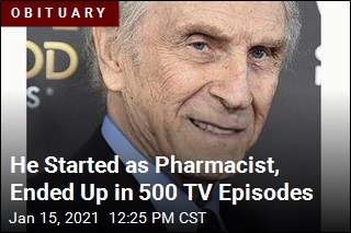 He Started as Pharmacist, Ended Up in 500 TV Episodes
