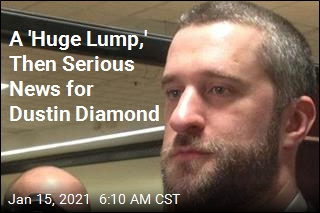 A 'Sense of Unease,' Then Bad News for Dustin Diamond