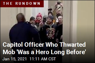 Capitol Officer Who Thwarted Mob 'Was a Hero Long Before'