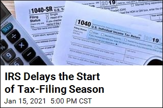 IRS Delays the Start of Tax-Filing Season