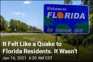 Florida Baffled at Odd Rumblings: 'Did Anyone Else Feel That???'