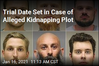 Trial Date Set in Case of Alleged Kidnapping Plot