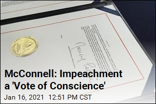 McConnell: Impeachment a 'Vote of Conscience'