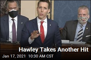 Hawley Takes Another Hit
