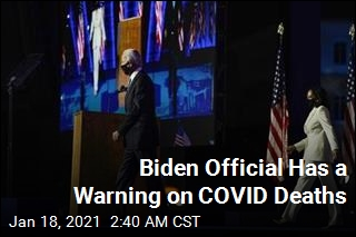 Biden Official: We'll Have More Than 500K COVID Deaths Within Weeks