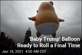 'Baby Trump' Blimp Is Heading to a Museum