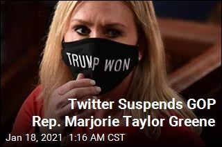 Latest to Be Suspended From Twitter: Marjorie Taylor Greene