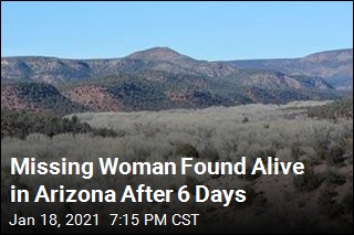 Missing Woman Found Alive in Arizona After 6 Days