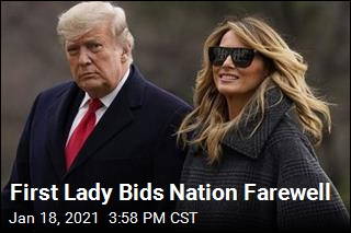 Melania Trump Thanks Nation