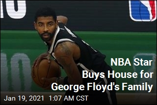 NBA Star Kyrie Irving Buys House for George Floyd's Family