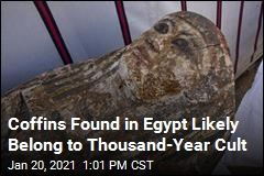 Coffins Found in Egypt Likely Belong to Thousand-Year Cult