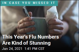 This Year's Flu Numbers Are Kind of Stunning