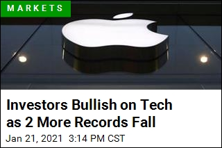 Investors Bullish on Tech as 2 More Records Fall