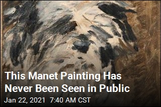 This Manet Painting Has Never Been Seen in Public
