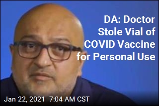 DA: Doctor Swiped COVID Vaccine to Give to Family