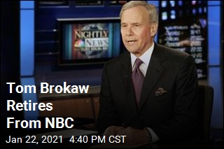 Tom Brokaw Retires From NBC