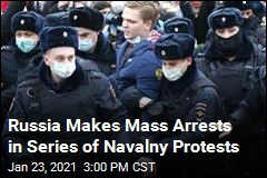 Mass Arrests Meet Navalny Protests