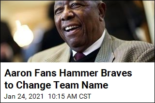 Hank Aaron Fans to Atlanta Braves: Change Your Name