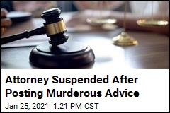 Attorney's How-to-Murder Advice Earns Him a Suspension