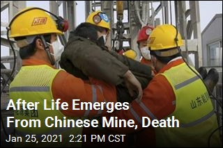 After Life Emerges From Chinese Mine, Death